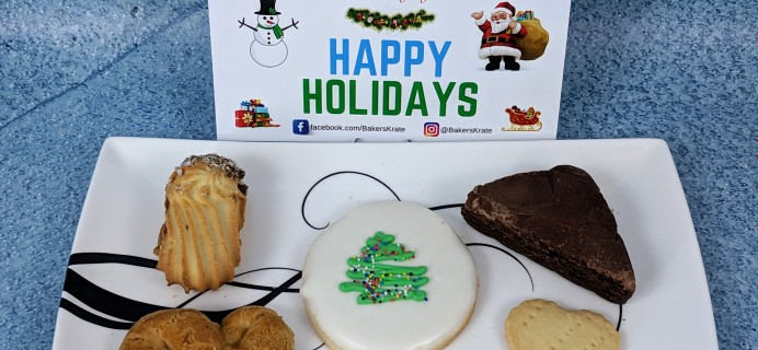 Bakers Krate December 2018 Subscription Box Review + Coupon!
