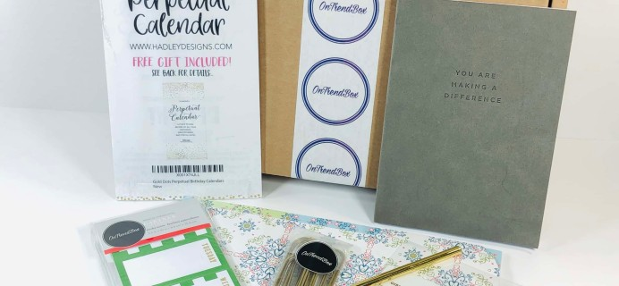 OnTrend Box January 2019 Subscription Box Review + Coupon