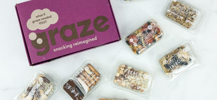 Graze Variety Box Review & Free Box Coupon – January 2019