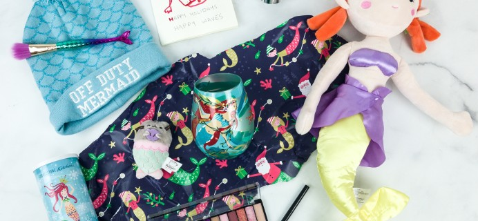 Mermaid Box Winter 2018 Subscription Box Review + Coupon