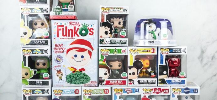 Funko 12 Days of Christmas 2018 Bundle Unboxing