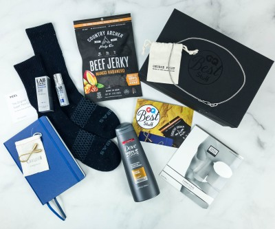 GQ Best Stuff Box Winter 2018 Subscription Box Review