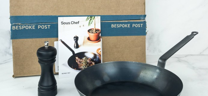 Bespoke Post SOUS CHEF Box Review & Coupon – January 2019