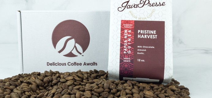 Java Presse Coffee Of The Month Club December 2018 Review + Coupon