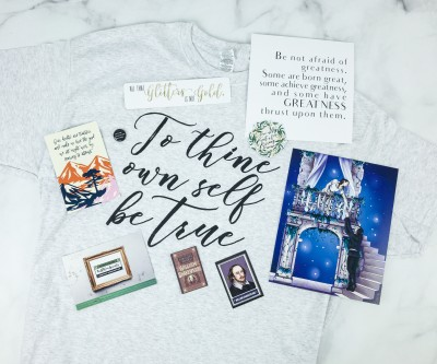 HalfBloodPrints December 2018 Subscription Box Review