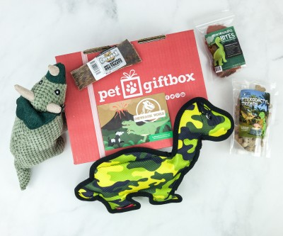 PetGiftBox January 2019 Subscription Box Review + 50% Off Coupon