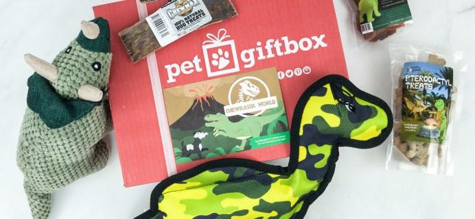 PetGiftBox January 2019 Subscription Box Review + 50% Off Coupon