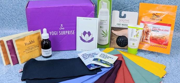 Yogi Surprise January 2019 Subscription Box Review + Coupon