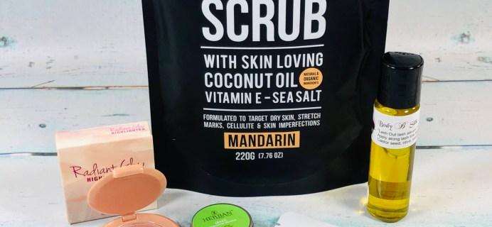 Vegan Cuts Beauty Box January 2019 Subscription Box Review