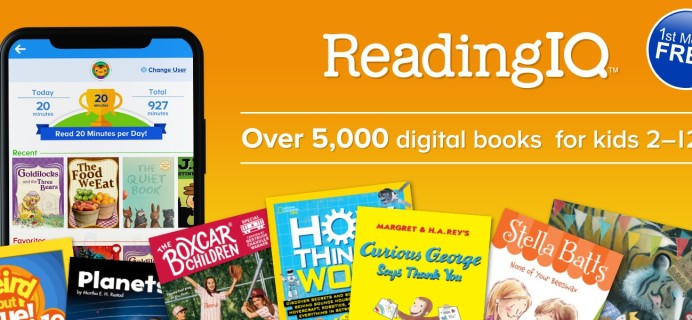 New Subscriptions: ReadingIQ Available Now + FREE Trial Coupon!