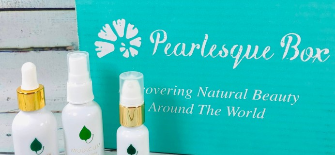 Pearlesque Box January 2019 Subscription Box Review + Coupon