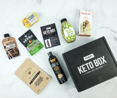 Onnit Keto Box January 2019 Subscription Box Review