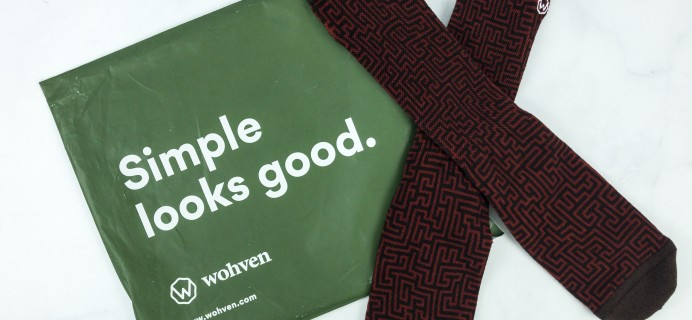 Wohven Socks Subscription January 2019 Review + Coupon!