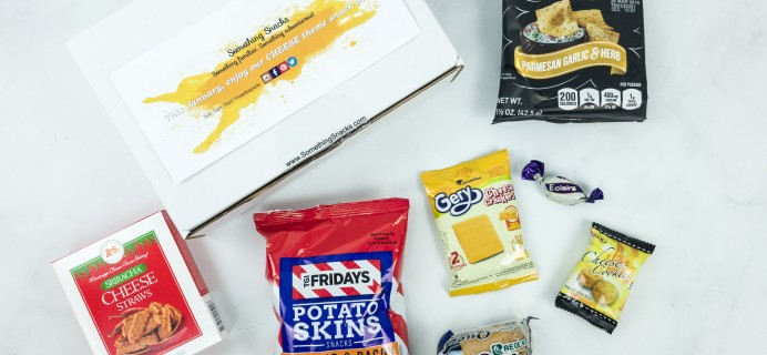 Something Snacks January 2019 Subscription Box Review