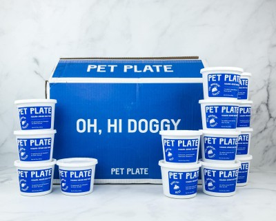 Pet Plate Dog Food Subscription Review! – BEEF MEAL BOX