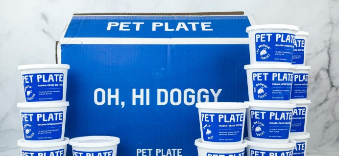 PetPlate Dog Food Subscription Review! – BEEF MEAL BOX