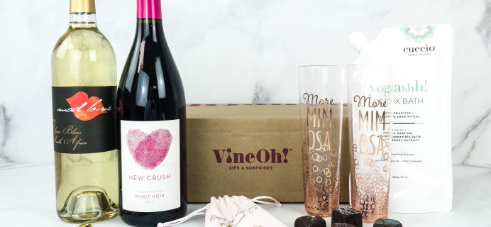 Vine Oh! Winter 2019 Subscription Box Review + Coupon