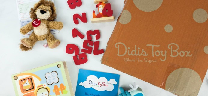 Didis Toy Box February 2019 Subscription Box Review & Coupon