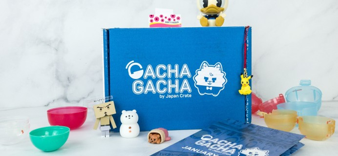 Gacha Gacha Crate January 2019 Subscription Box Review + Coupon