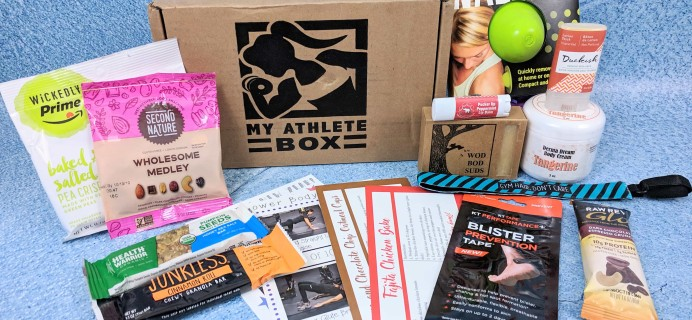 My Athlete Box Subscription Box Review + Coupon – December 2018