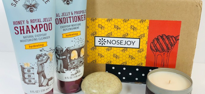 NOSEJOY January 2019 Subscription Box Review + Coupon!