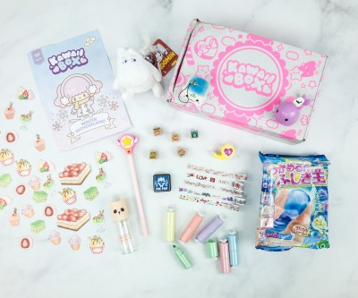 Kawaii Box January 2019 Subscription Box Review