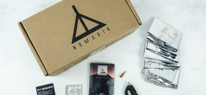 Nomadik January 2019 Subscription Box Review + Coupon