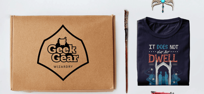 Geek Gear World of Wizardry Subscription Update + February 2019 Spoilers + Coupon!