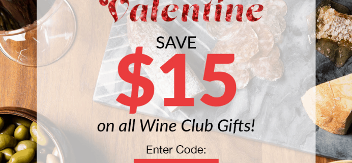PLONK Wine Club Coupon: Save $15 On All Valentine's Day Wine Club Gifts!