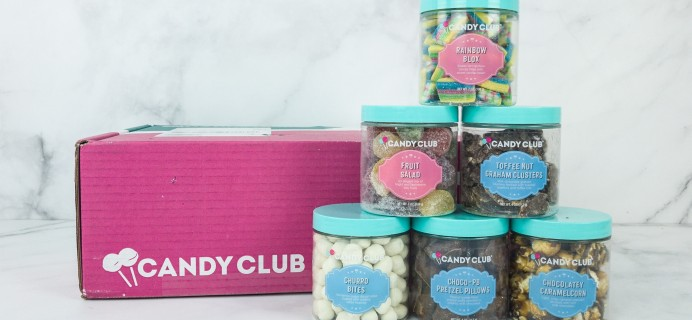 Candy Club January 2019 Subscription Box Review + Coupon