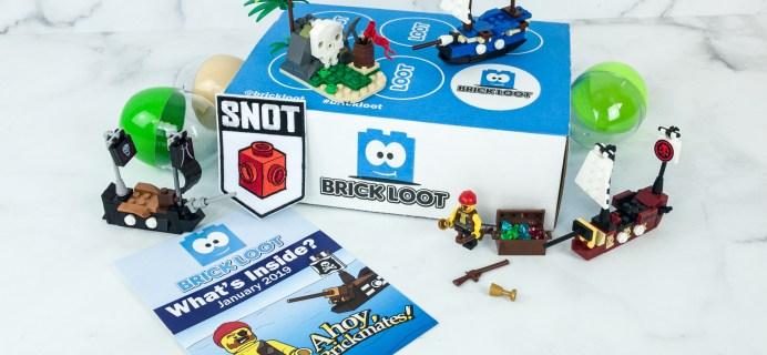 Brick Loot January 2019 Subscription Box Review & Coupon