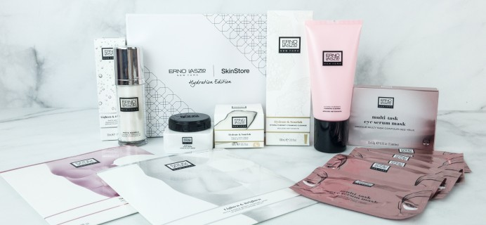 SkinStore x Erno Laszlo Limited Edition Beauty Box Review + $10 Off Coupon!
