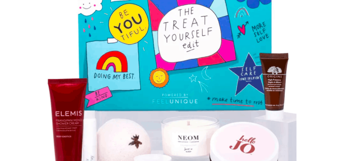 Feel Unique Treat Yourself Edit Box Available Now + Full Spoilers!