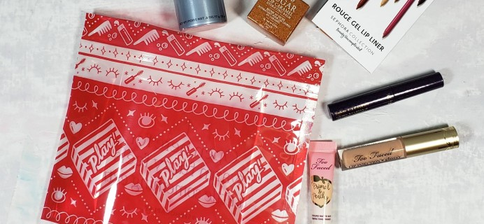 PLAY! by Sephora Subscription Box Review – December 2018