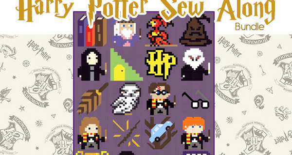 Fat Quarter Shop Harry Potter Sew Along Bundle Available Now!