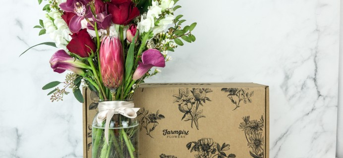 Farmgirl Flowers February 2019 Subscription Box Review
