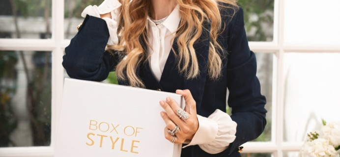 Box of Style by Rachel Zoe Spring 2019 Add-Ons Available Now + Full Spoilers + Coupon!
