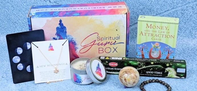 Spiritual Guru January 2019 Subscription Box Review