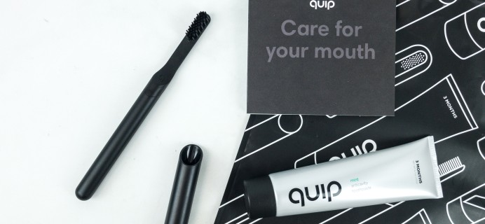 Quip All Black Metal Electric Toothbrush Review