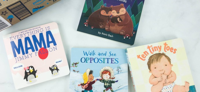 Amazon Book Box Kids February 2019 Review – Baby to 2 Years