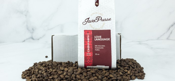 Java Presse Coffee Of The Month Club February 2019 Review + Coupon