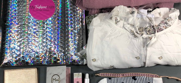 My Fashion Crate February 2019 Subscription Box Review