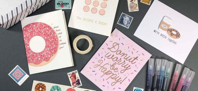 PostBox Subscription Box Review + Coupon – February 2019
