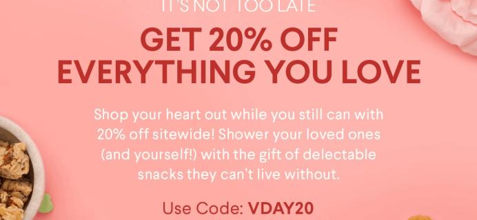 Naturebox Valentine's Day Sale: Save 20% Off Sitewide!
