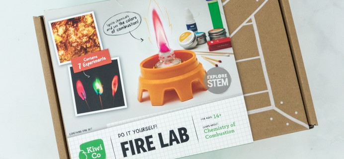 KiwiCo Chemistry Pack Fire Lab Review
