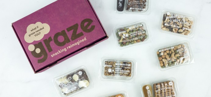 Graze Variety Box Review & Free Box Coupon – March 2019