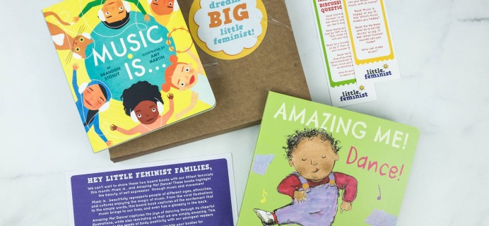 Little Feminist Book Club February 2019 Subscription Box Review + Coupon – BOARD BOOKS