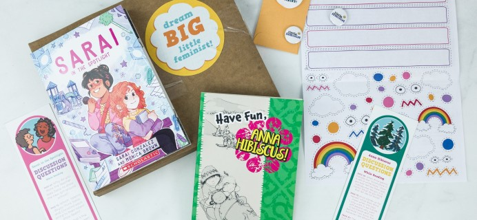 Little Feminist Book Club February 2019 Subscription Box Review + Coupon – 7-9 YEARS OLD