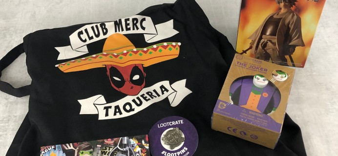 Loot Remix January 2019 Subscription Box Review