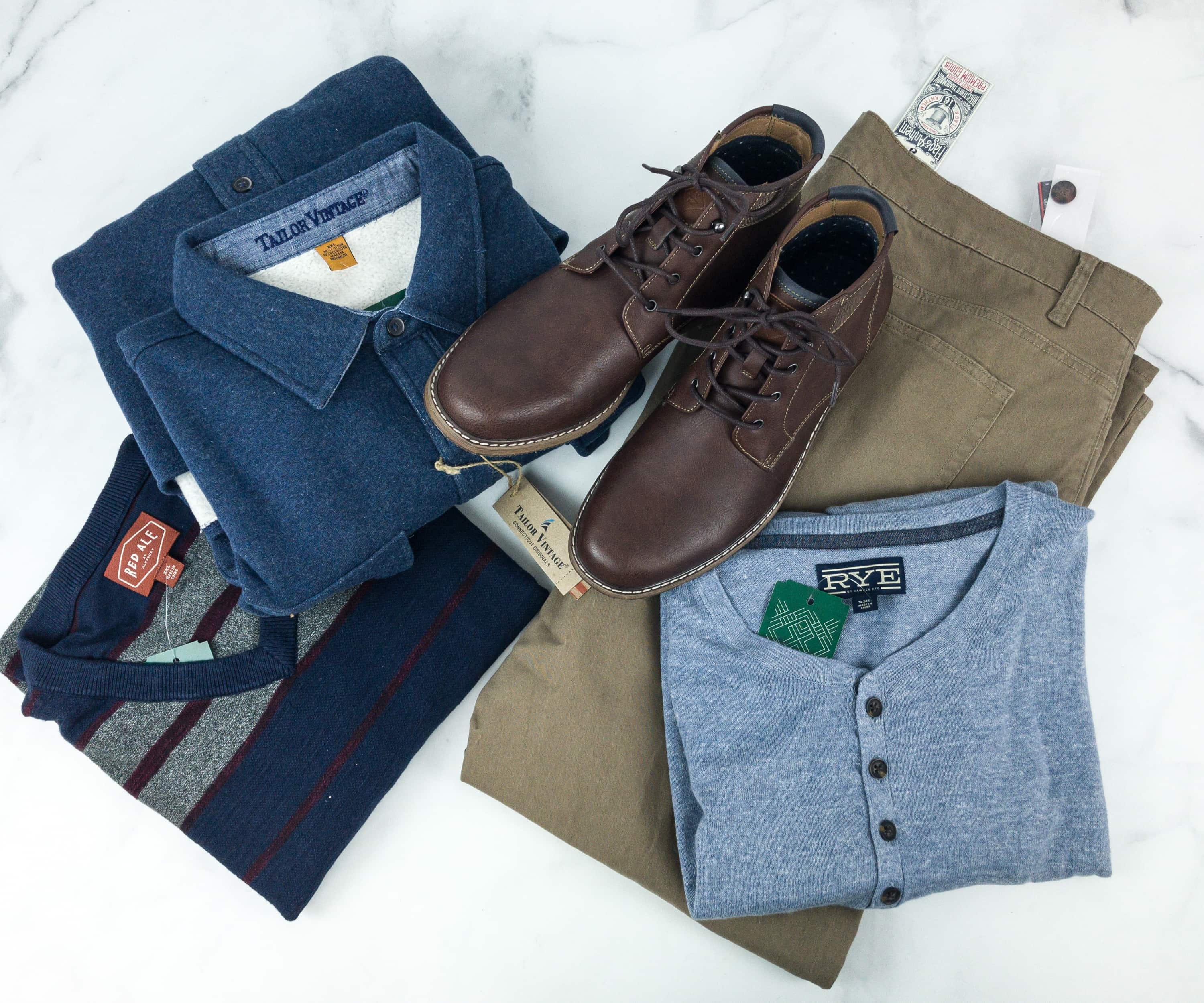 Stitch Fix Men February 2019 Review hello subscription